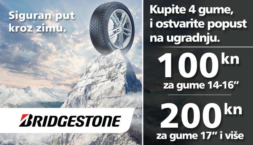 Bridgestone – bon za ugradnju